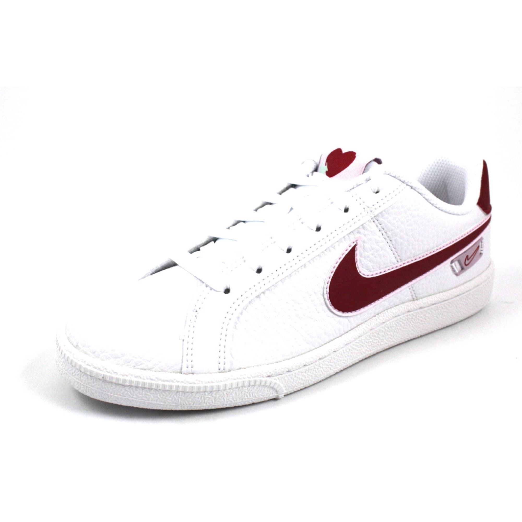 Nike Sportswear Sportbačiai be auliuko 'Court Royale Premium' raudona / balta