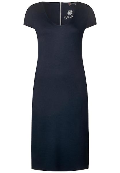 Kleider für Frauen - STREET ONE Sweatkleid navy  - Onlineshop ABOUT YOU