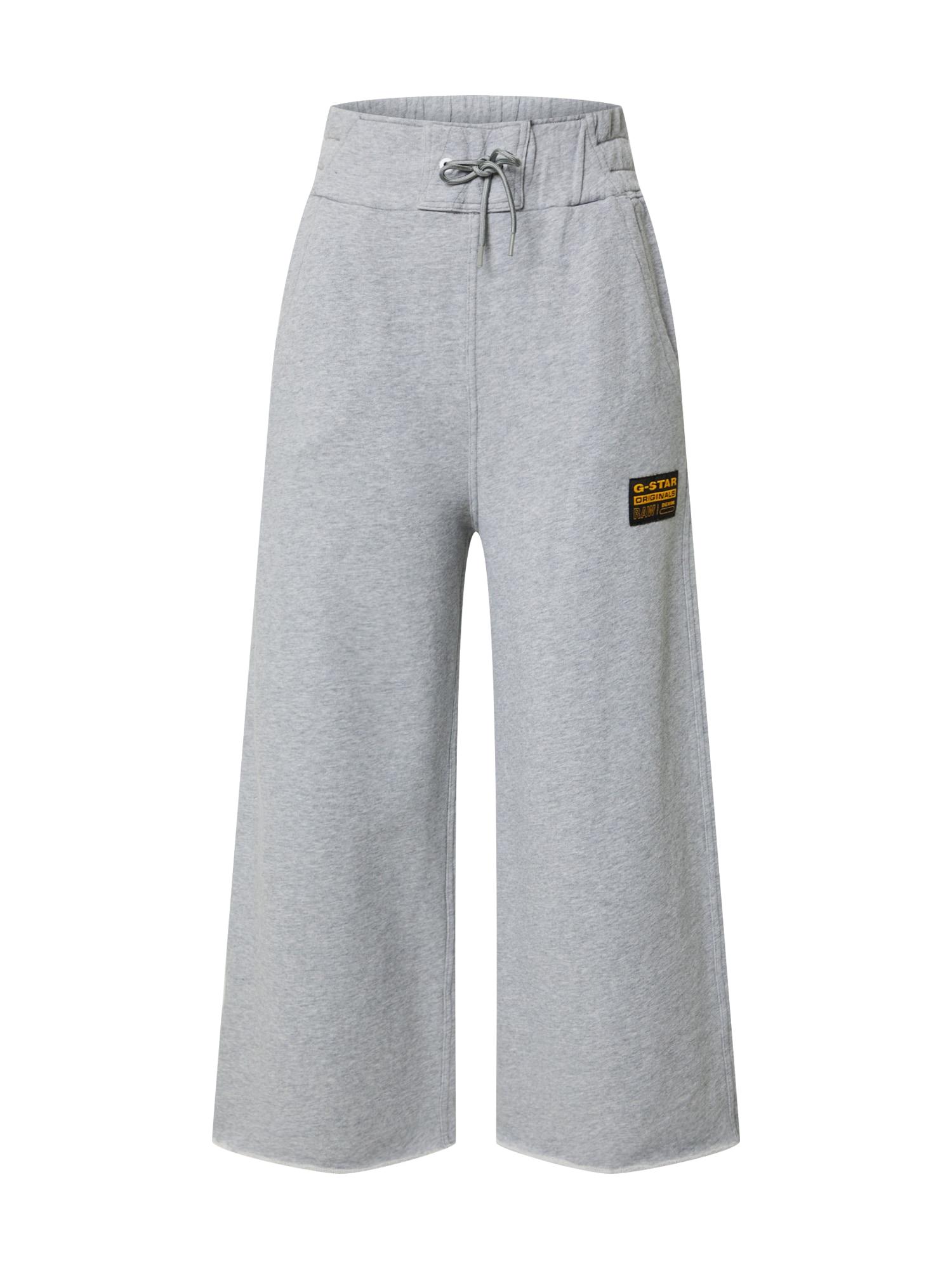 G-Star RAW Kelnės 'Culotte' margai pilka