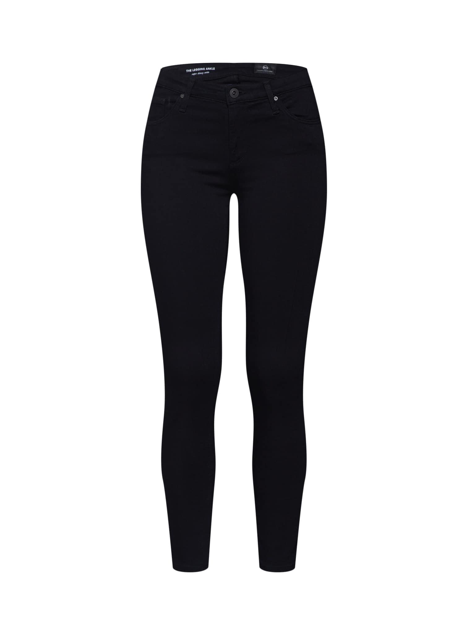 Džíny černá AG Jeans