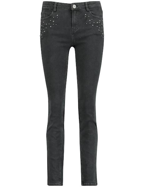 Hosen für Frauen - Jeans › TAIFUN › black denim  - Onlineshop ABOUT YOU