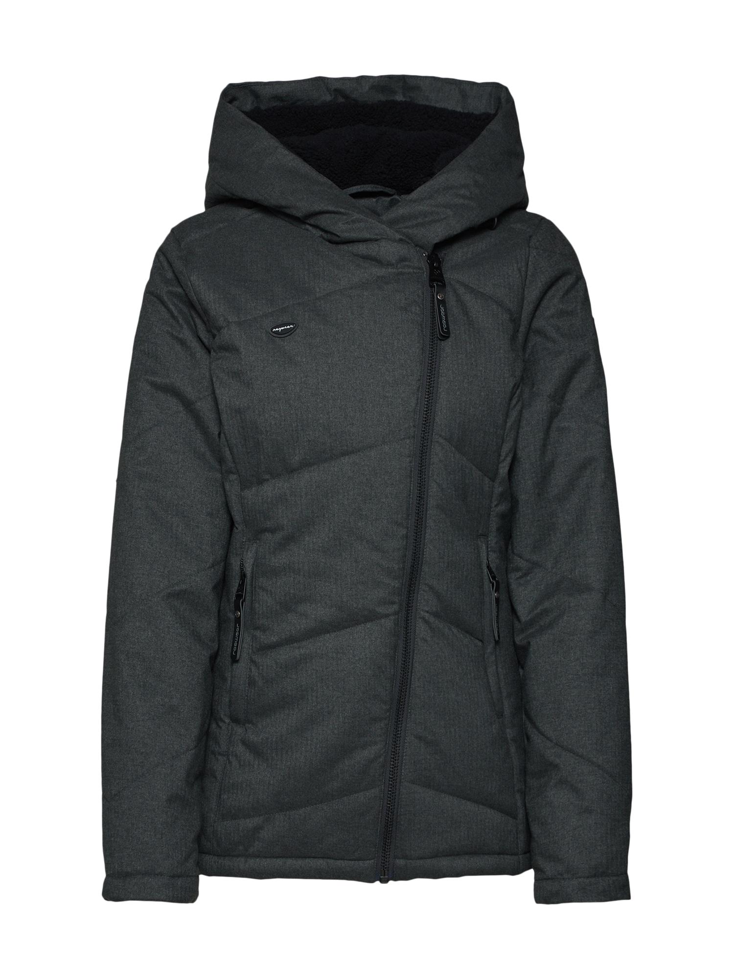Zimní bunda GORDON A tmavě šedá Ragwear
