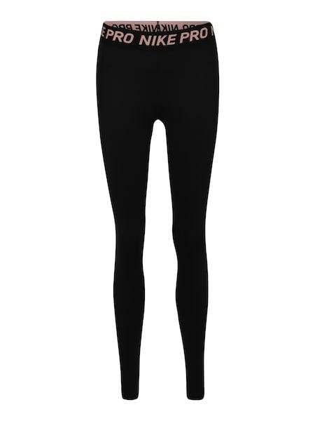 Hosen - Tights 'Pro Warm' › Nike › rosa schwarz  - Onlineshop ABOUT YOU
