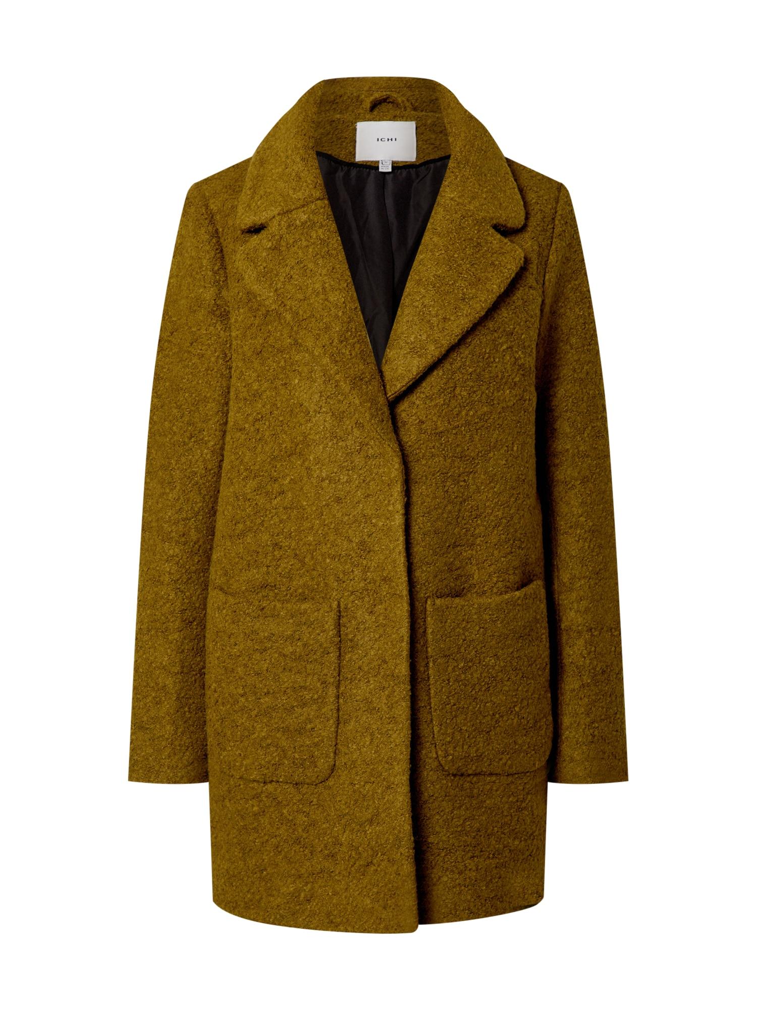 ICHI Demisezoninis paltas žolės žalia