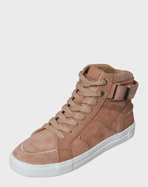 aldo hoher sneaker 39 cassis 39 in beige ros about you. Black Bedroom Furniture Sets. Home Design Ideas