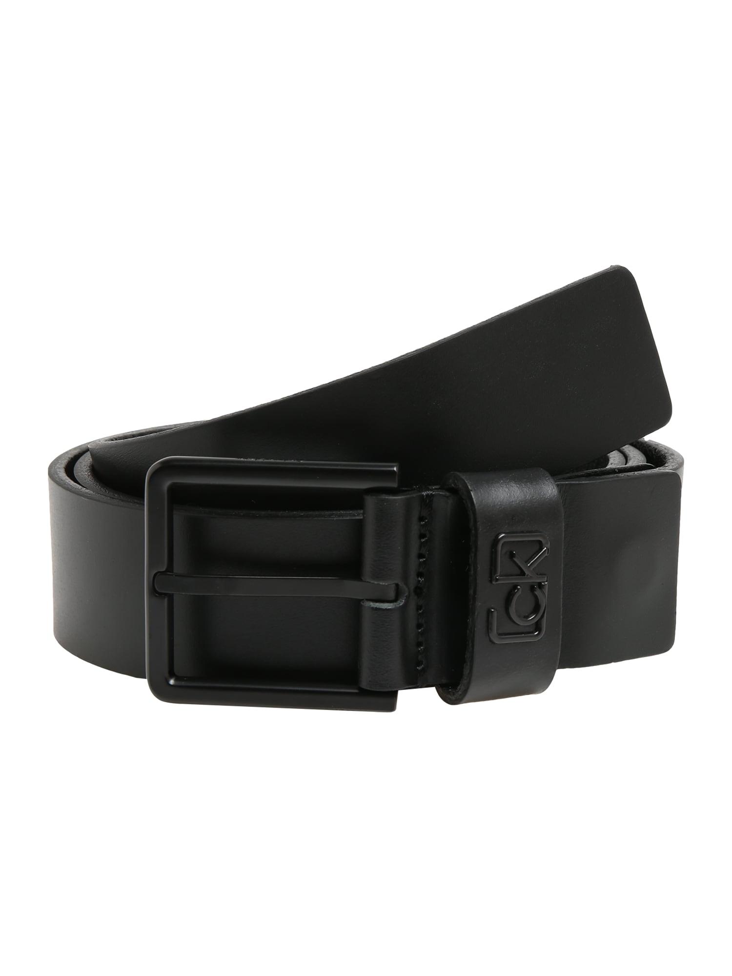 Calvin Klein Diržas '35MM ADJ SIGNATURE LOOP' juoda