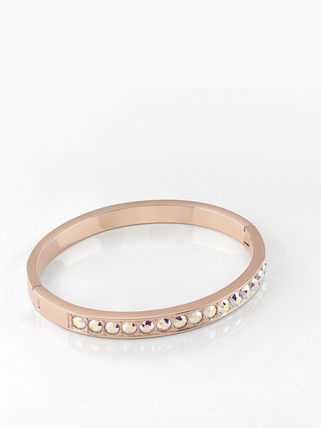 Armbaender für Frauen - GUESS Armreif 'Shiny Crystals' rosegold  - Onlineshop ABOUT YOU