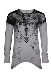 trueprodigy Herren Shirt Constancy schwarz,weiß | 04057124032376
