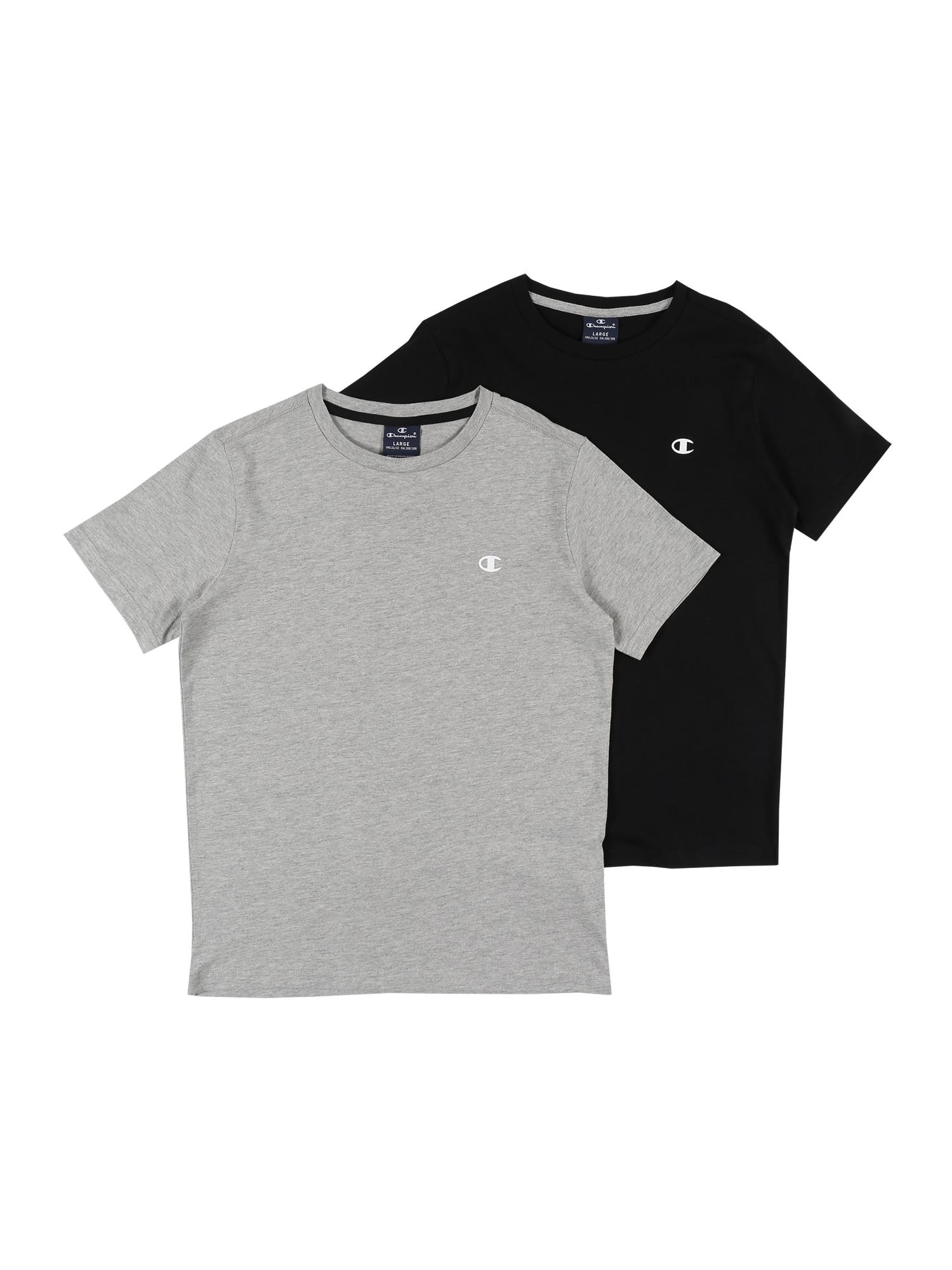 Champion Authentic Athletic Apparel Marškinėliai margai pilka