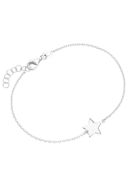 Armbaender für Frauen - FIRETTI Armband 'Stern' silber  - Onlineshop ABOUT YOU