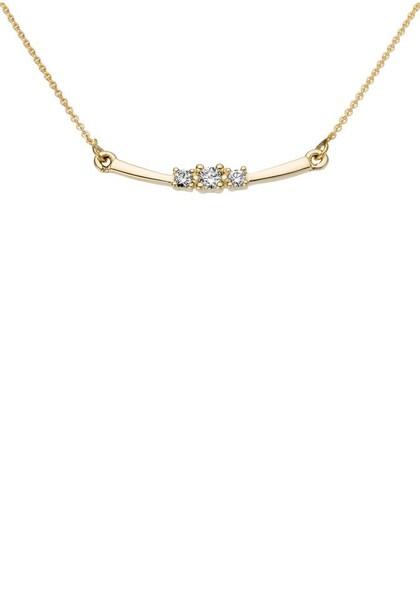 Ketten für Frauen - FIRETTI Collier gold weiß  - Onlineshop ABOUT YOU
