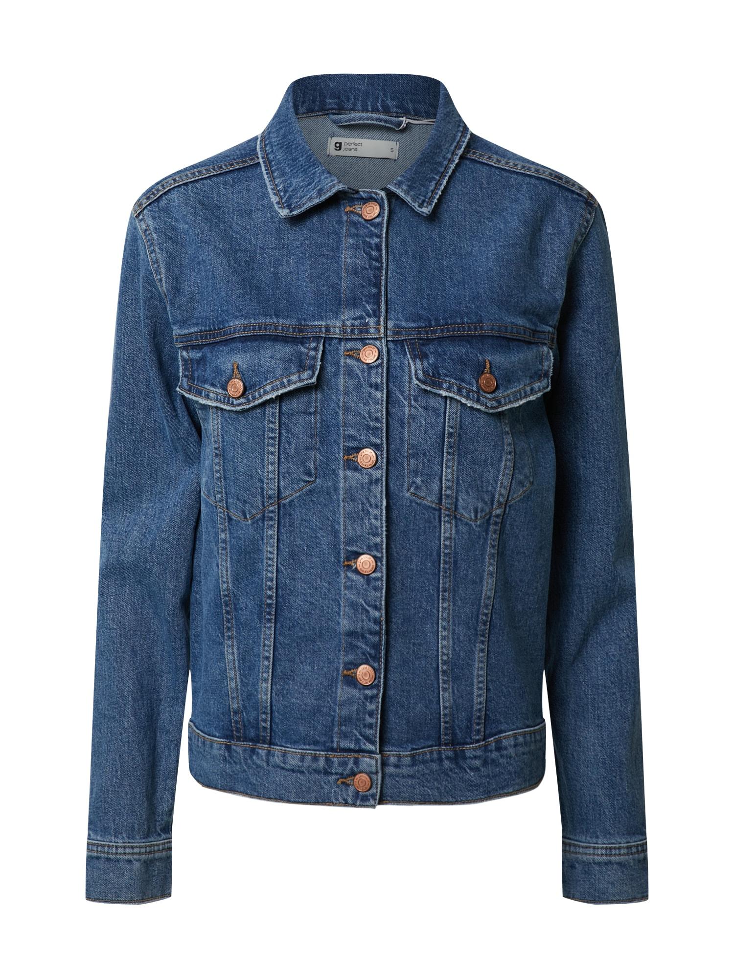Gina Tricot Demisezoninė striukė 'Solange' tamsiai (džinso) mėlyna