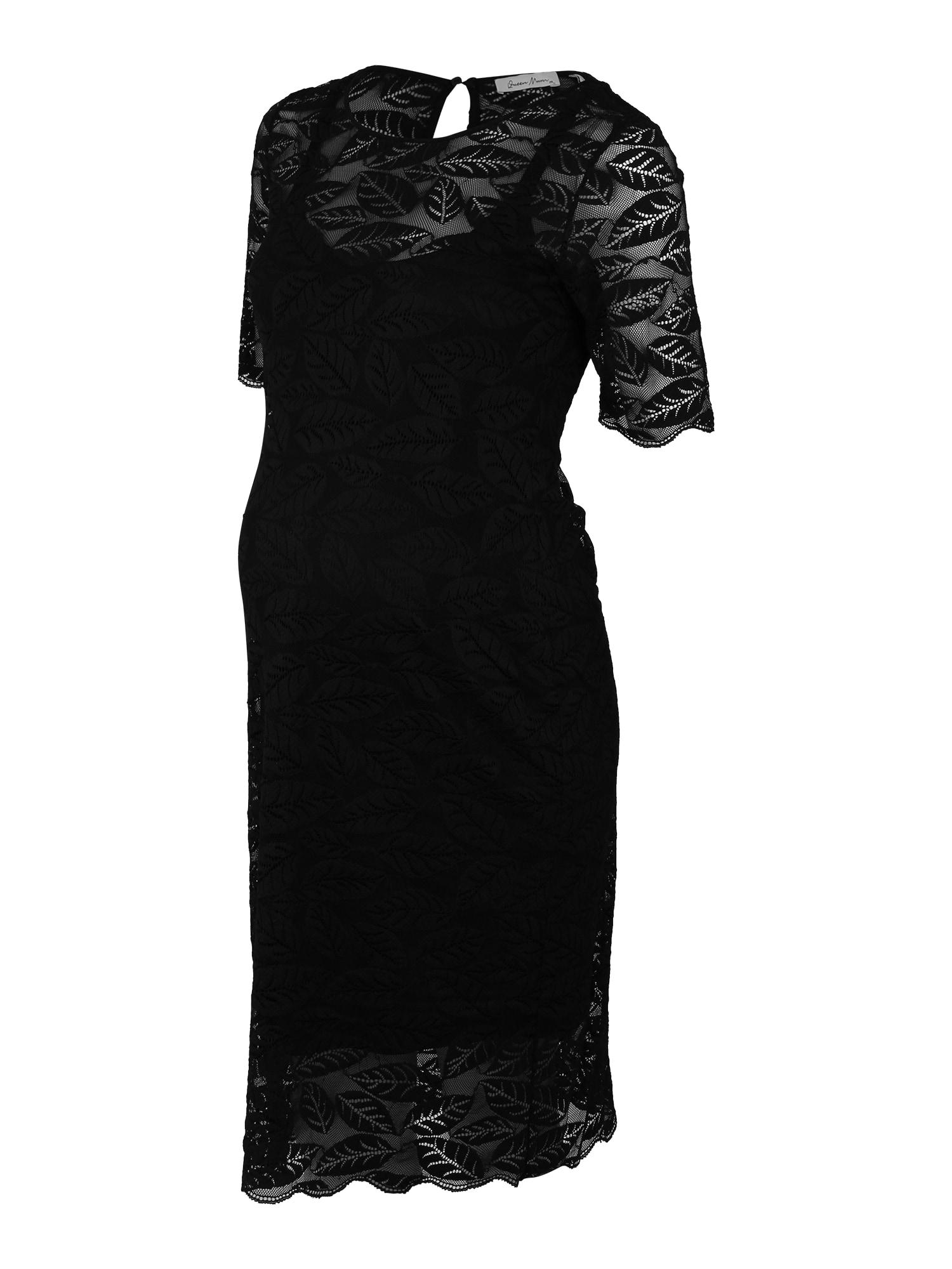 QUEEN MUM Vakarinė suknelė juoda