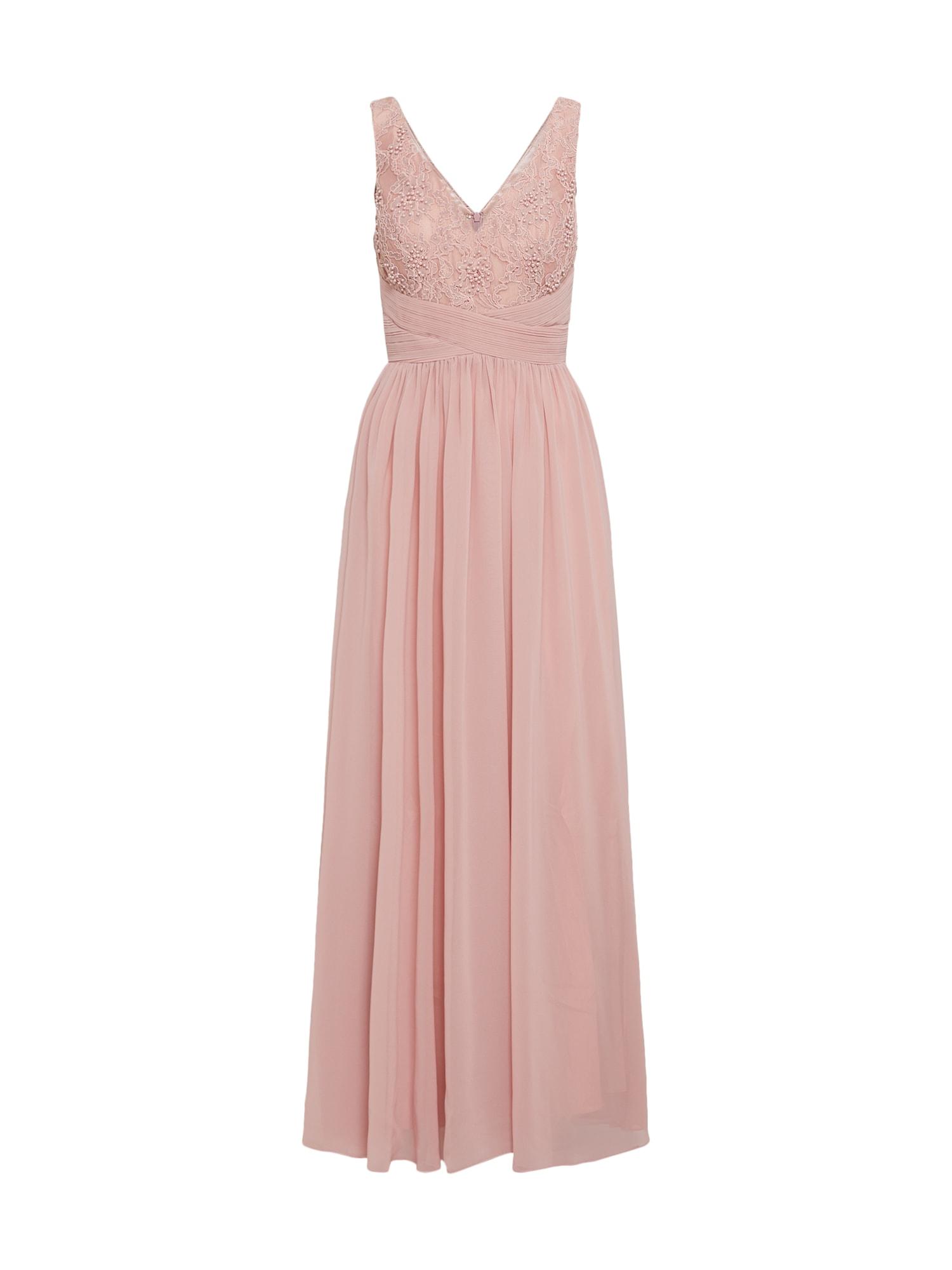 Společenské šaty růžová Mascara
