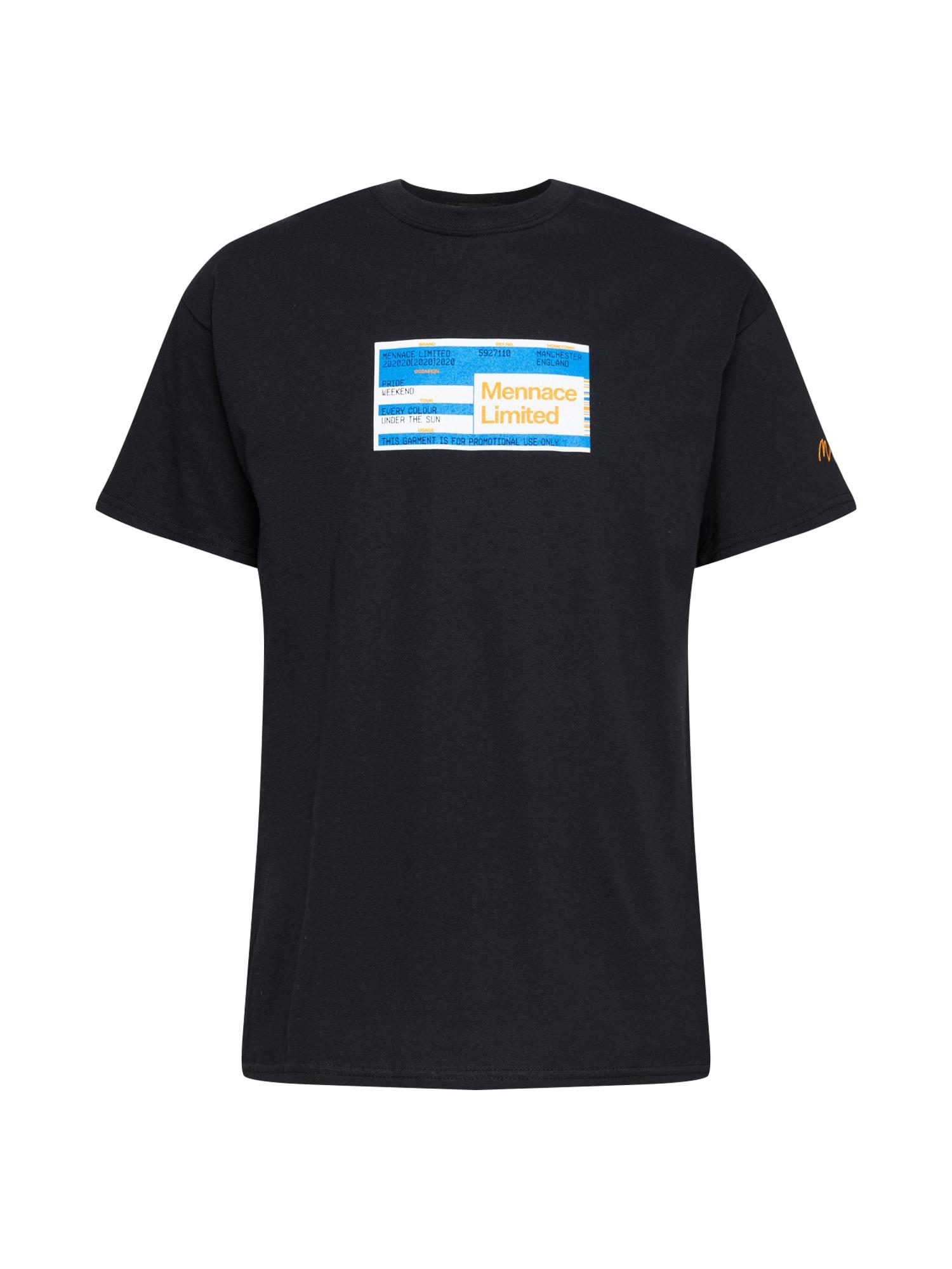 Mennace Marškinėliai mišrios spalvos / juoda