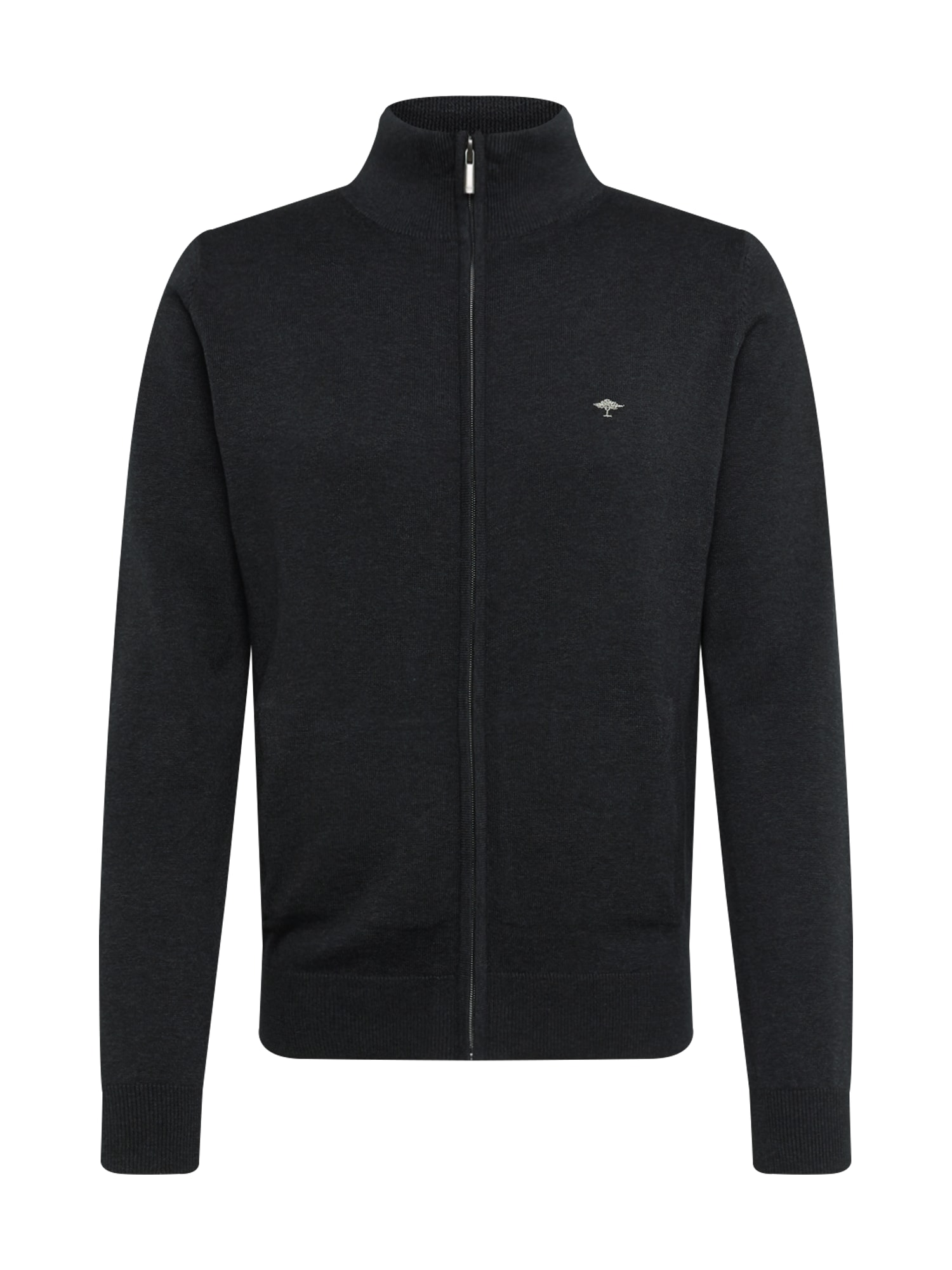 FYNCH-HATTON Kardiganas 'Zip' juoda