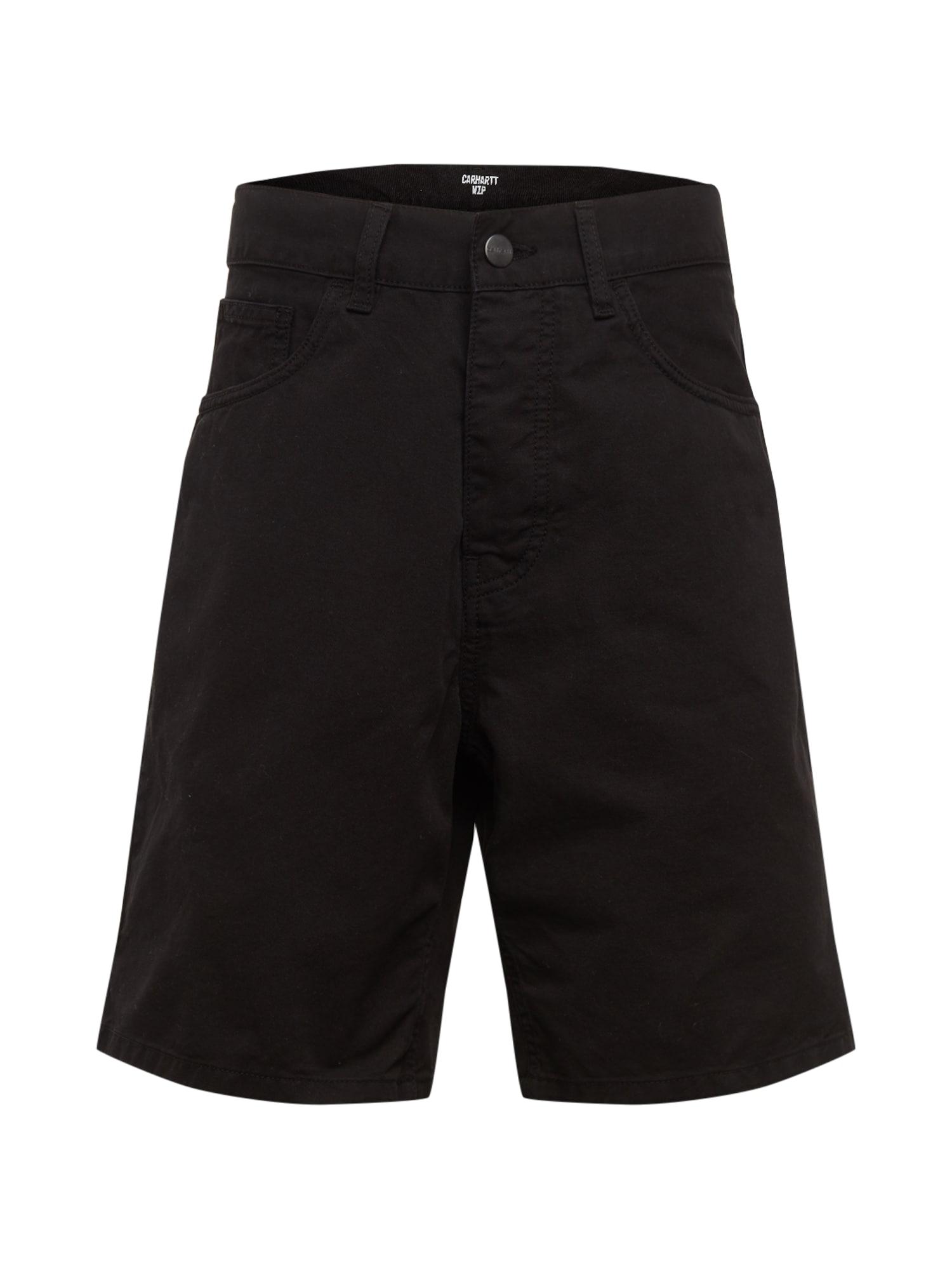 Carhartt WIP Džinsai 'Newel' juodo džinso spalva