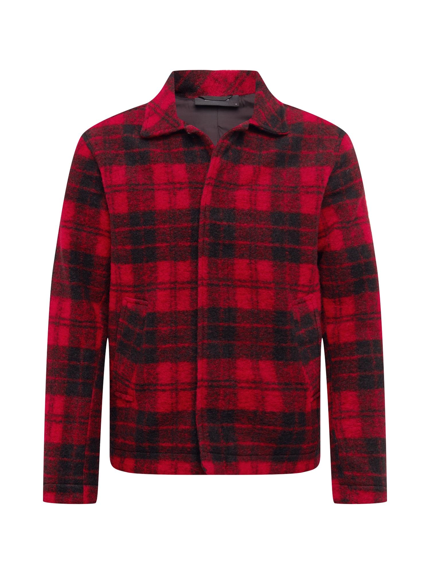 PEAK PERFORMANCE Marškiniai raudona / juoda