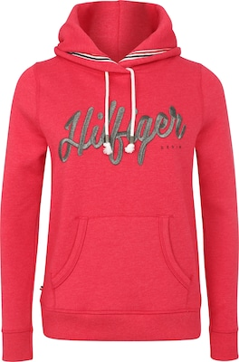 HILFIGER DENIM Sweater mit Label-Stickerei