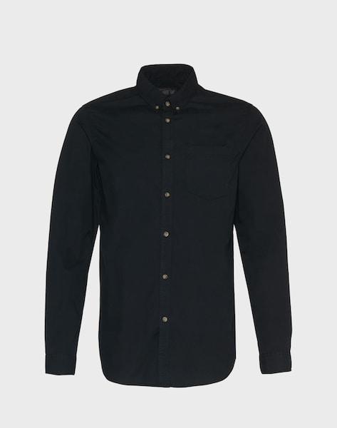 jack jones hemd 39 jorgavin shirt ls noos 39 in schwarz. Black Bedroom Furniture Sets. Home Design Ideas