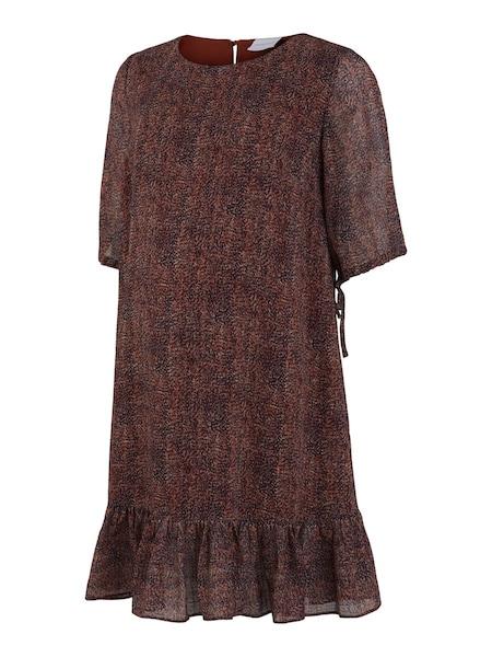 Schwangerschaftsmode - Kleid › Mamalicious › rostbraun mischfarben  - Onlineshop ABOUT YOU
