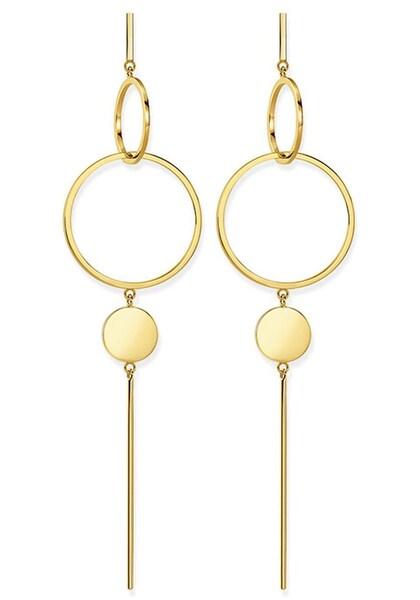Ohrringe für Frauen - Thomas Sabo Paar Ohrstecker 'Scheibe, H1934 413 39' gold  - Onlineshop ABOUT YOU