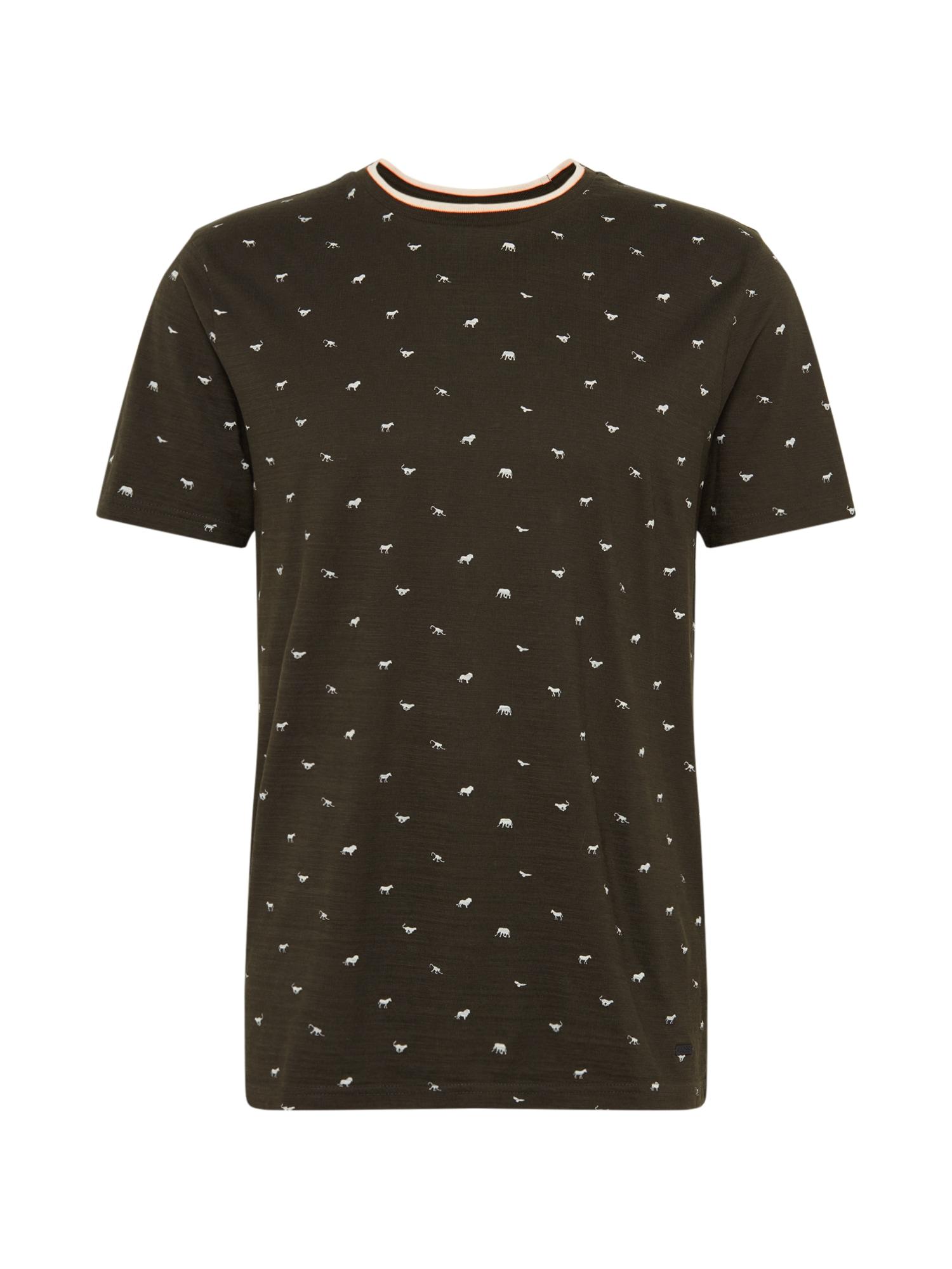 BOSS Marškinėliai 'Tejack' žalia