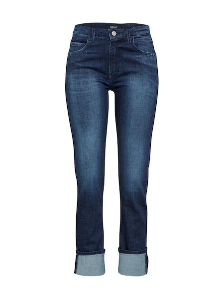 Hosen für Frauen - REPLAY Regular Jeans 'Jengre' dunkelblau  - Onlineshop ABOUT YOU