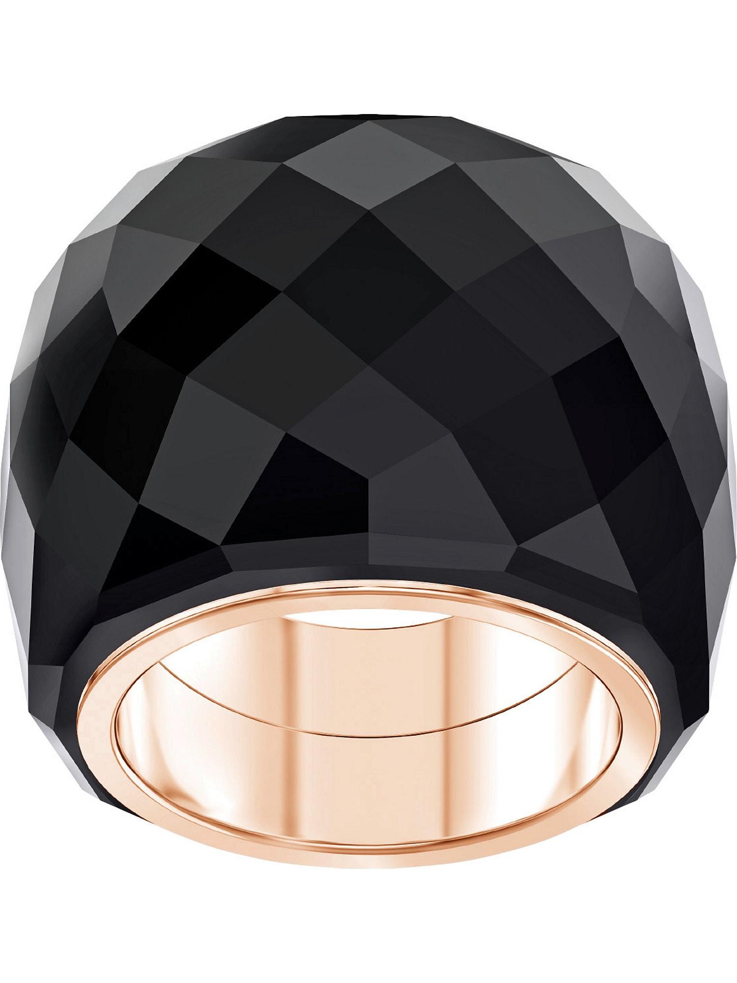 Damen Swarovski Ring 'Nirvana' blau,  gold, gold,  schwarz, orange, silber,  türkis | 09009654103366