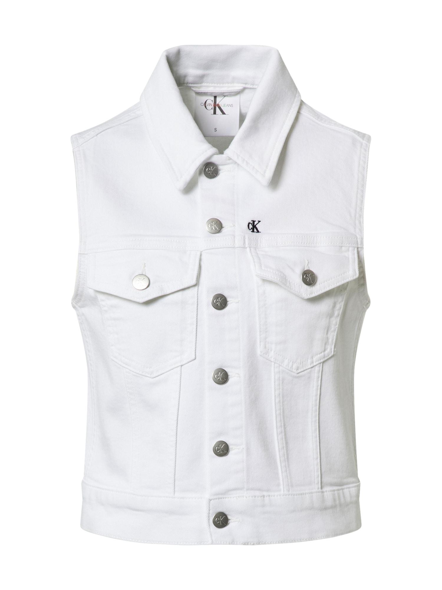 Calvin Klein Jeans Liemenė balta