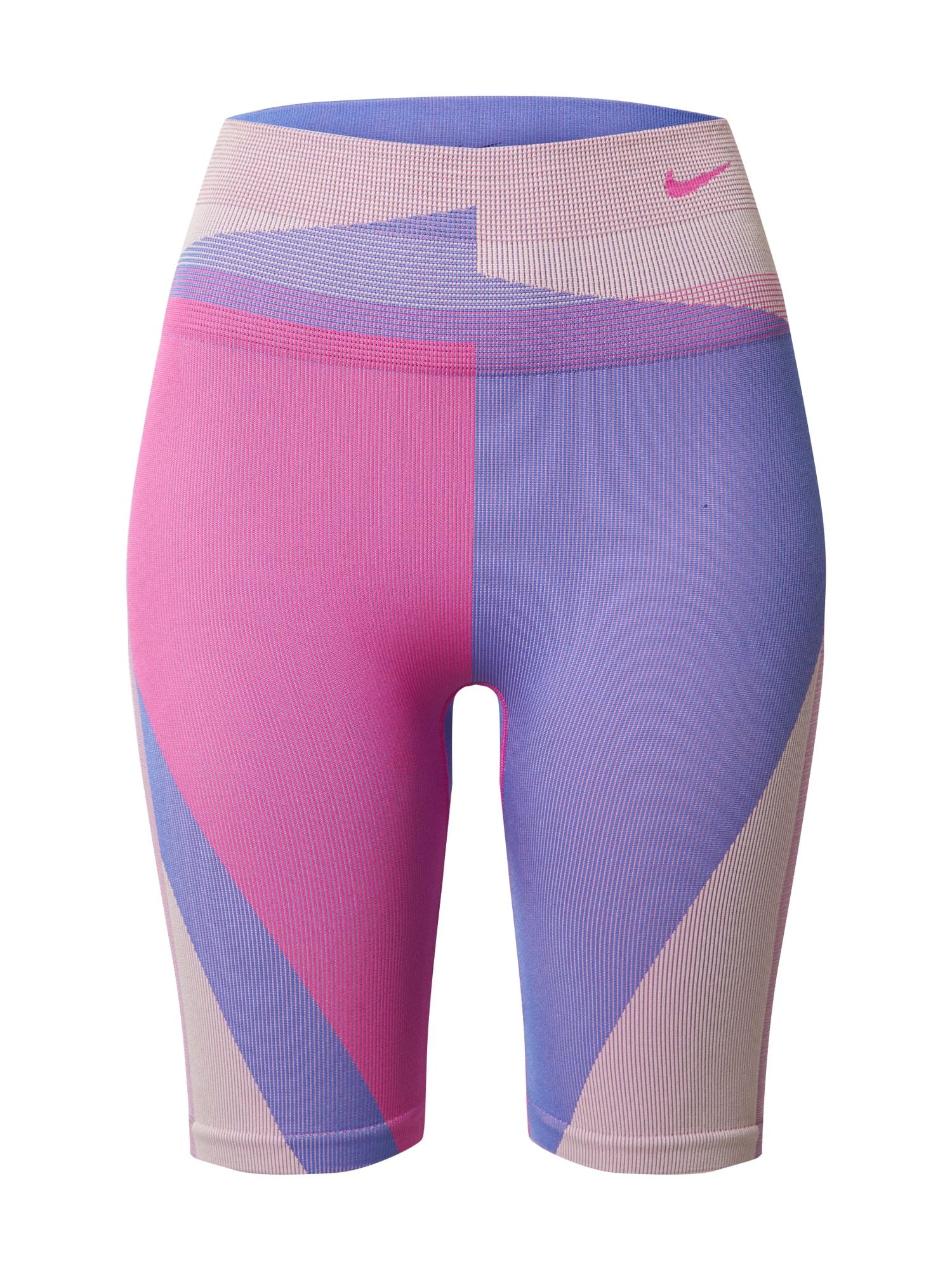NIKE Sportinės kelnės 'Clash' purpurinė / rožinė