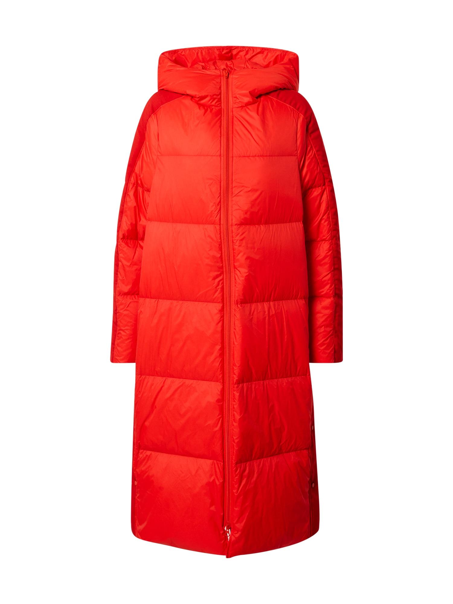 JNBY Rudeninis-žieminis paltas ugnies raudona