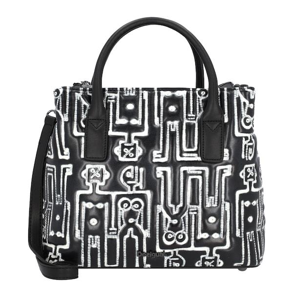 Handtaschen - Handtasche 'Robots' › Desigual › schwarz weiß  - Onlineshop ABOUT YOU
