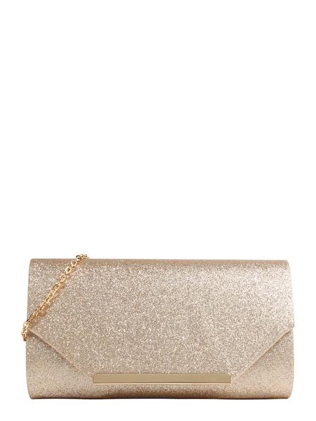 Clutches für Frauen - Clutch 'ENVELOPE FOLD' › Mascara › gold  - Onlineshop ABOUT YOU