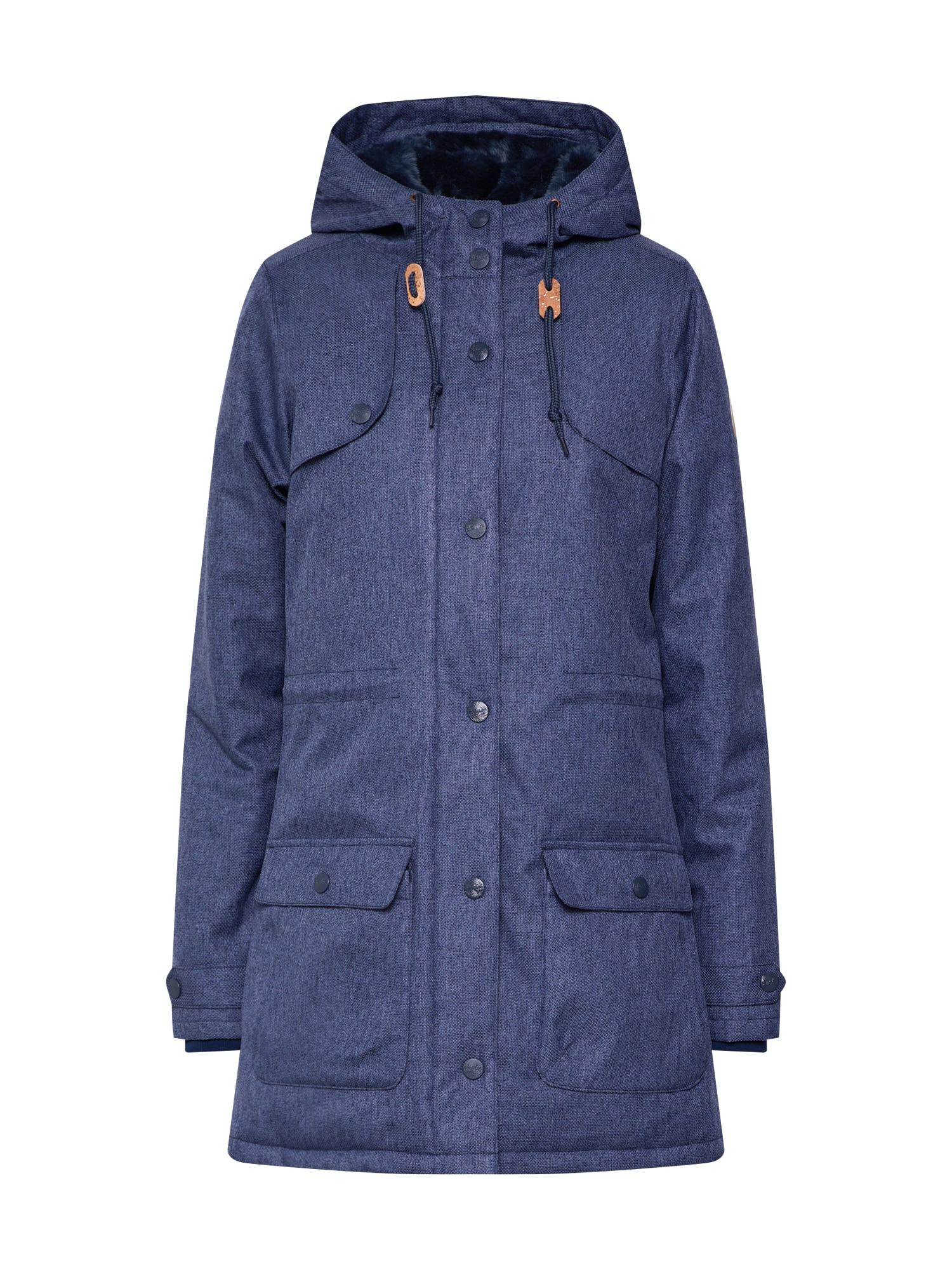 Derbe Ilga rudeninė-žieminė striukė 'Isola Invierno' tamsiai mėlyna