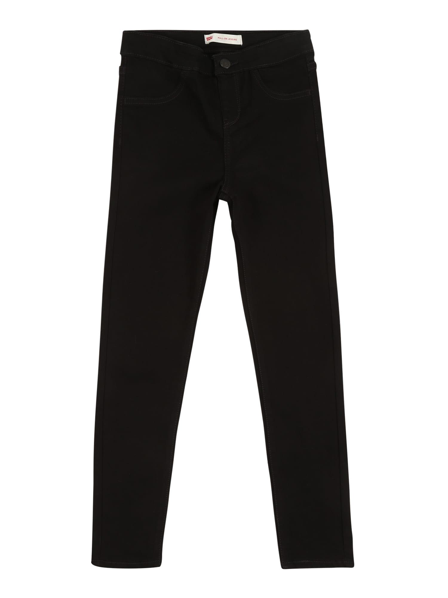 LEVI'S Džinsai 'Pull-on legging' juoda