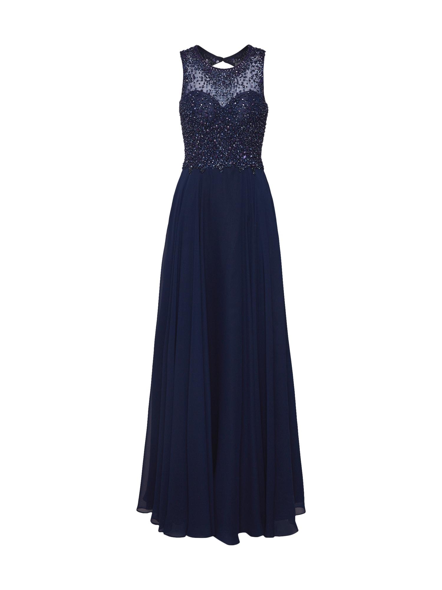 Společenské šaty noční modrá Unique
