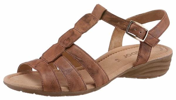 Sandalen für Frauen - GABOR Riemchensandale braun  - Onlineshop ABOUT YOU