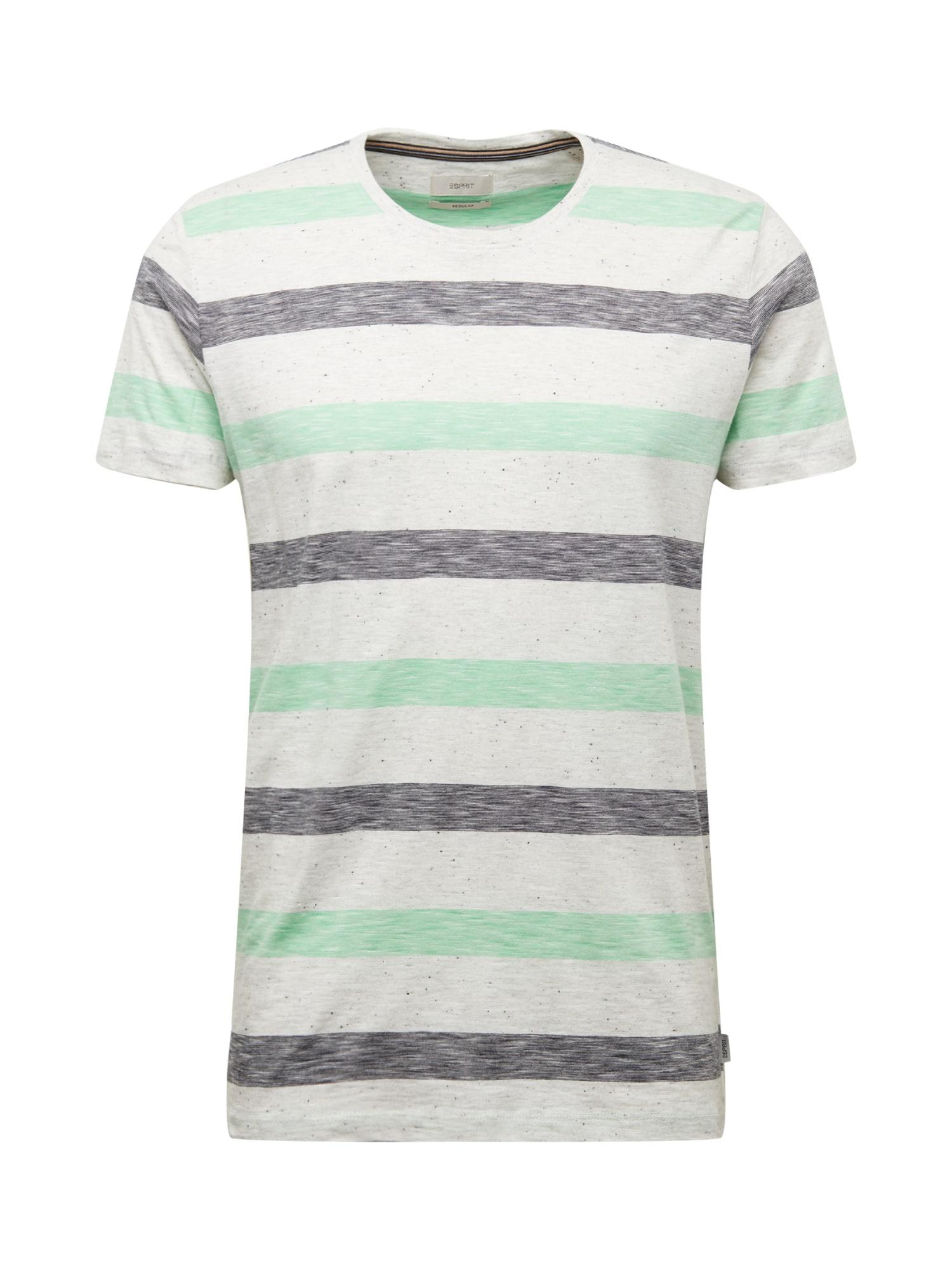 ESPRIT Marškinėliai šviesiai žalia