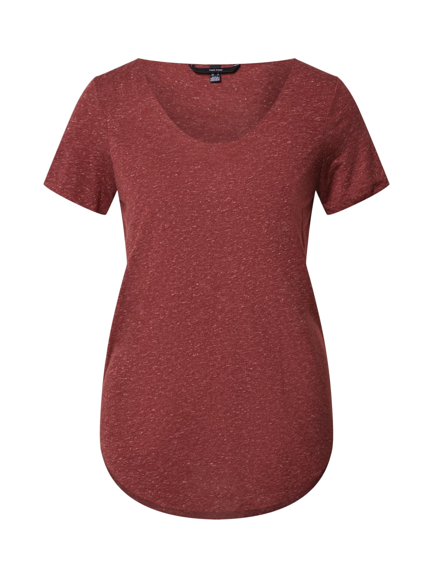 VERO MODA Tričko 'VMlua'  červená