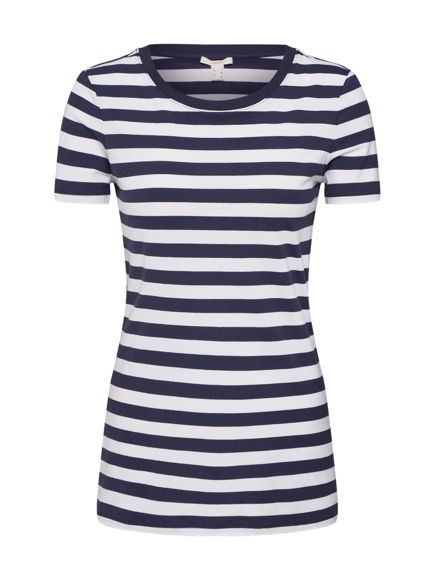 ESPRIT Marškinėliai 'FLW OCS Stripe Tee' tamsiai mėlyna