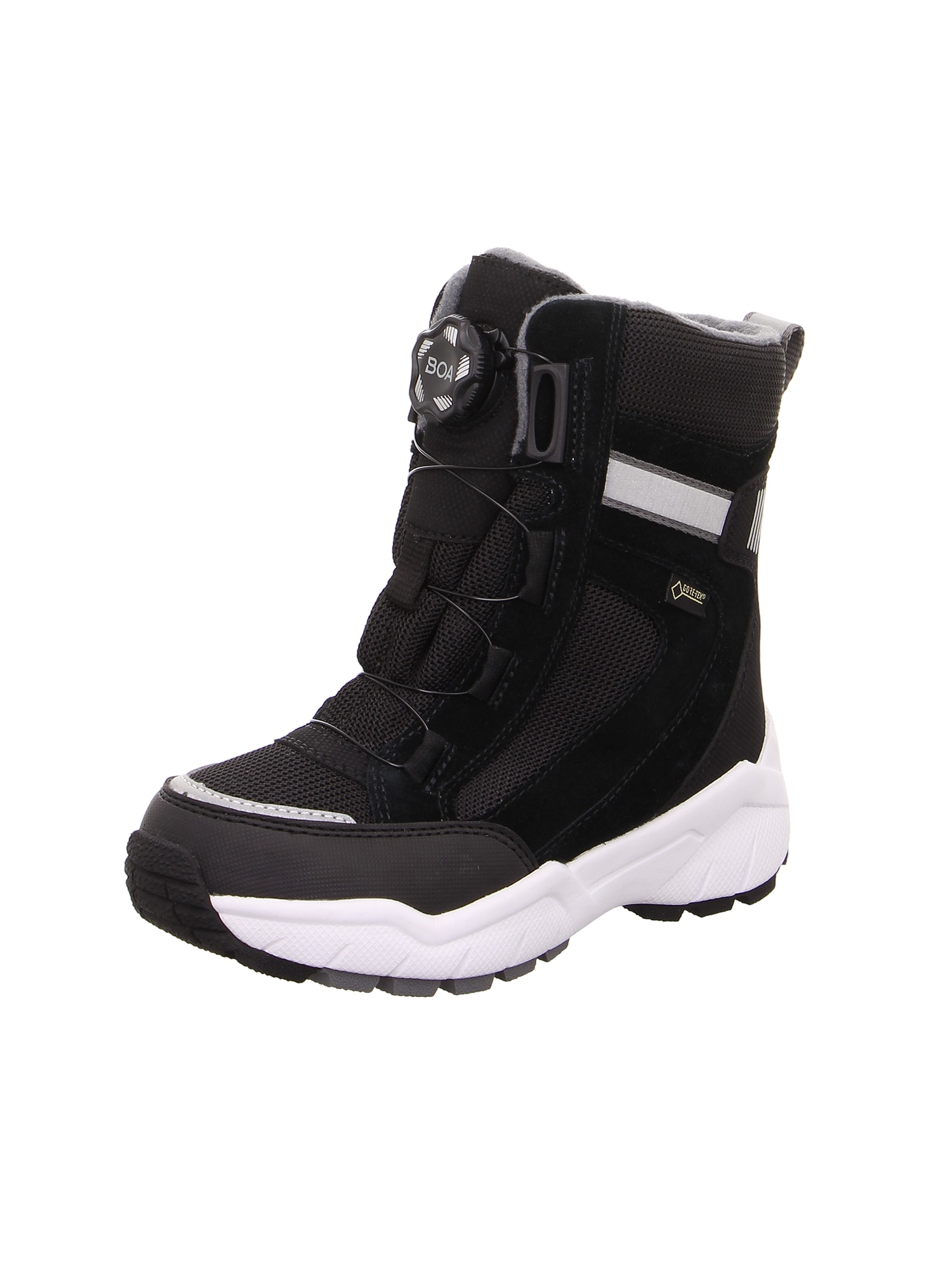 SUPERFIT Atviri batai juoda