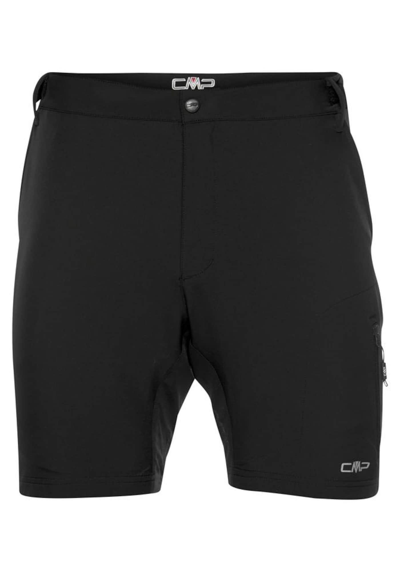CMP Sportovní kalhoty  černá / šedá