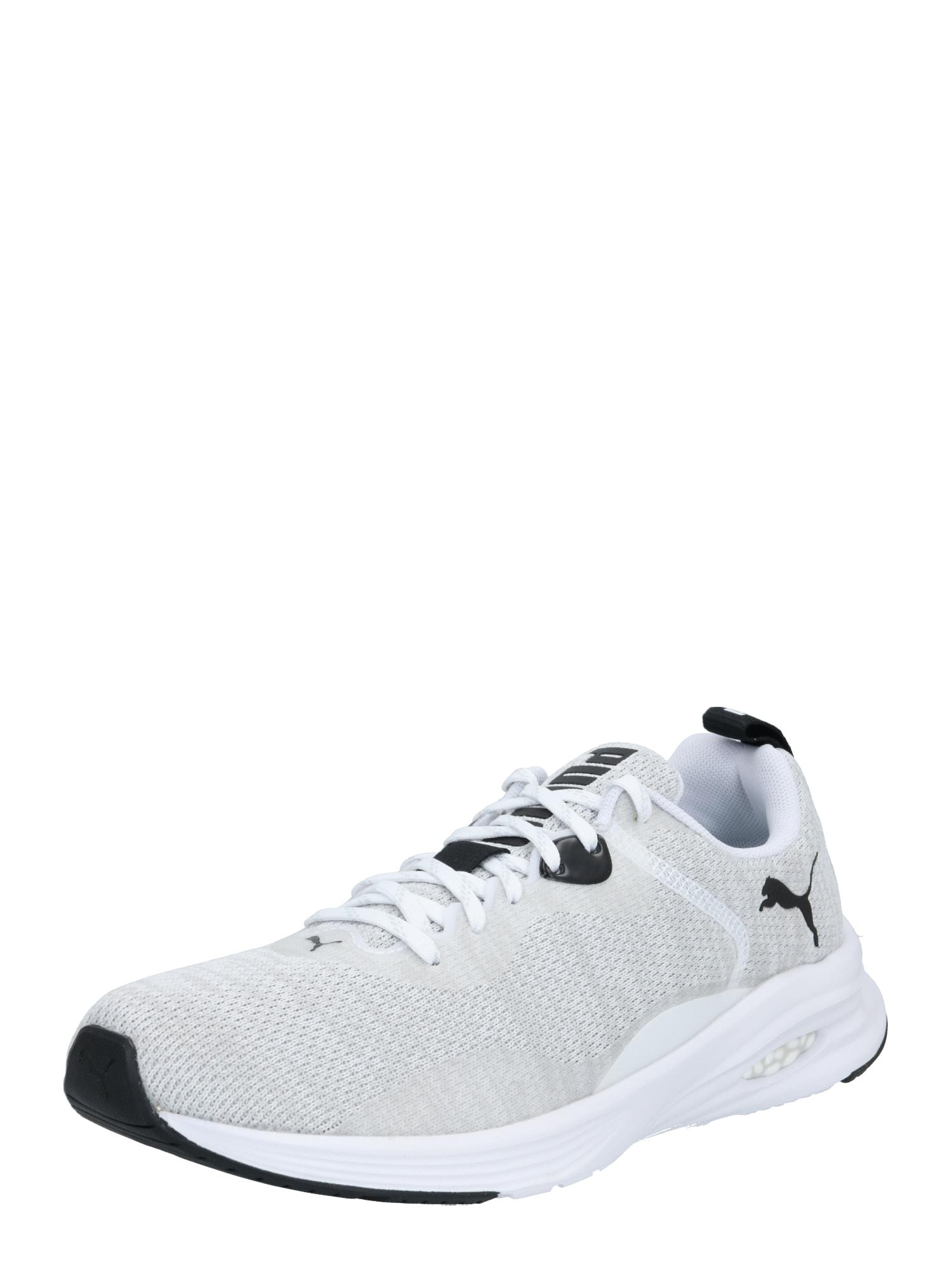 PUMA Bežecká obuv  sivá / biela