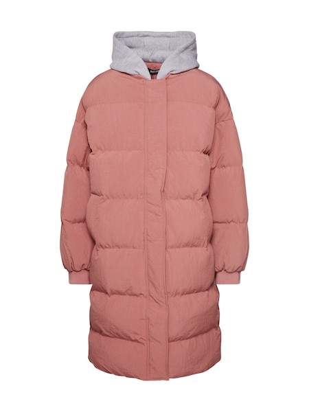 Jacken - Mantel 'Longline Puffer Jacket' › Missguided › pink  - Onlineshop ABOUT YOU