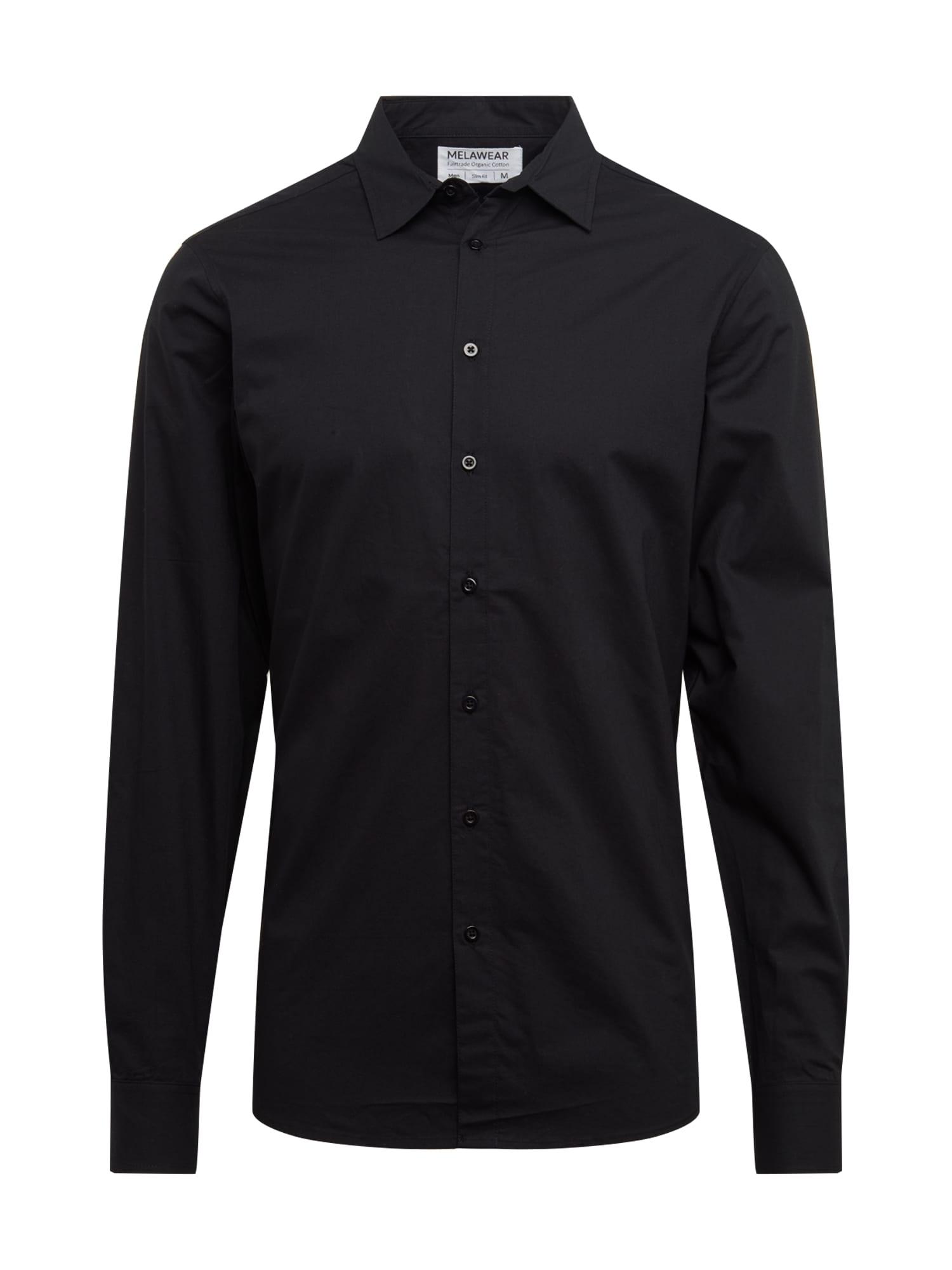 MELAWEAR Dalykinio stiliaus marškiniai juoda