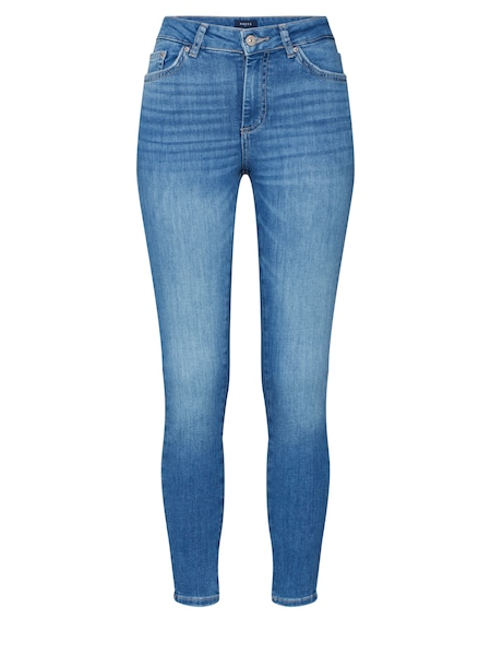 Hosen - Jeans 'PCDELLY SKN MW CR LB124 BA NOOS' › Pieces › blue denim  - Onlineshop ABOUT YOU