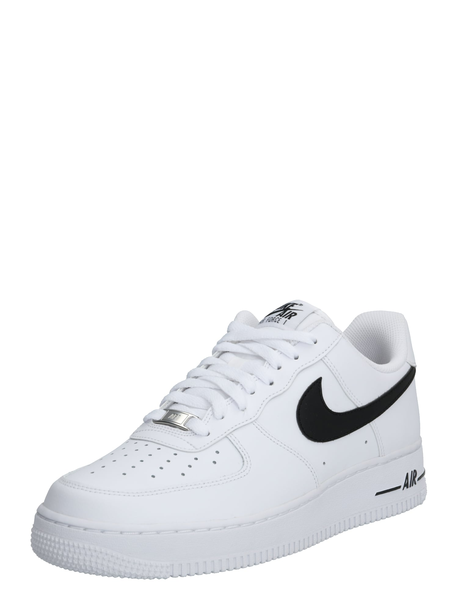 Nike Sportswear Sportbačiai be auliuko 'Air Force' balta / juoda