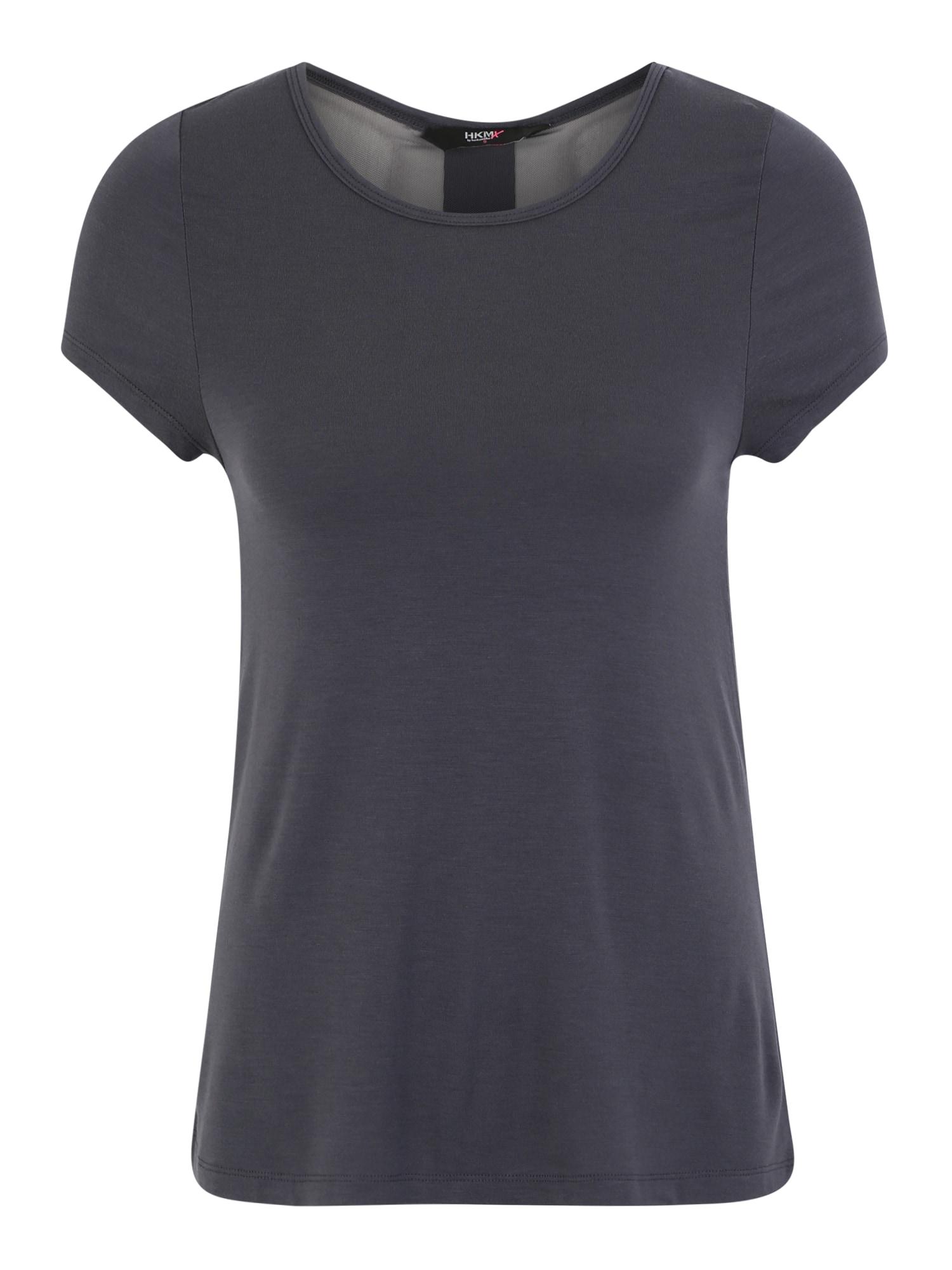 Funkční tričko tmavě šedá černá HKMX