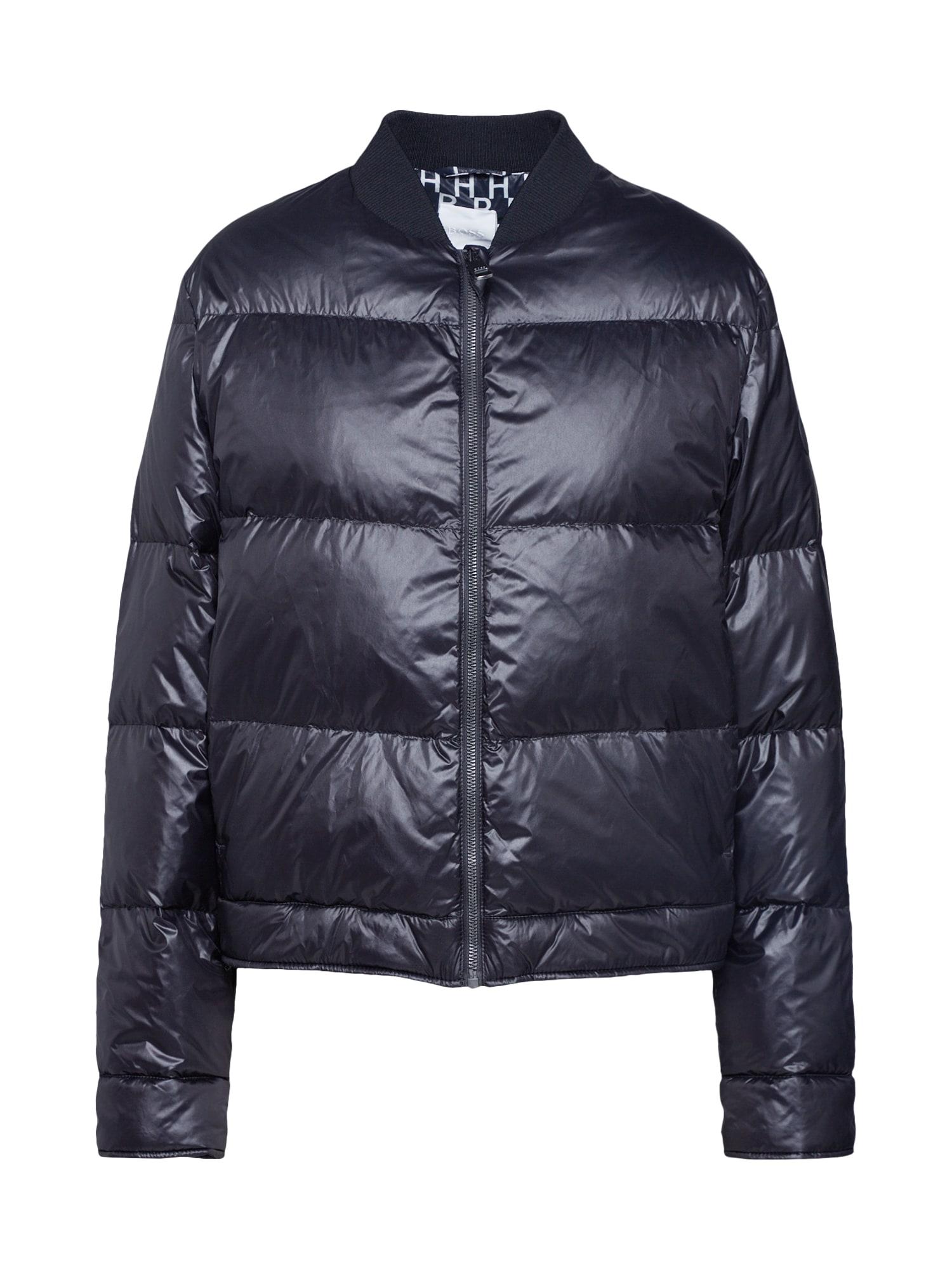 BOSS Žieminė striukė 'Obarking' juoda